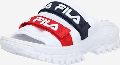 FILA Slipper in navy / rot / weiß, Produktansicht