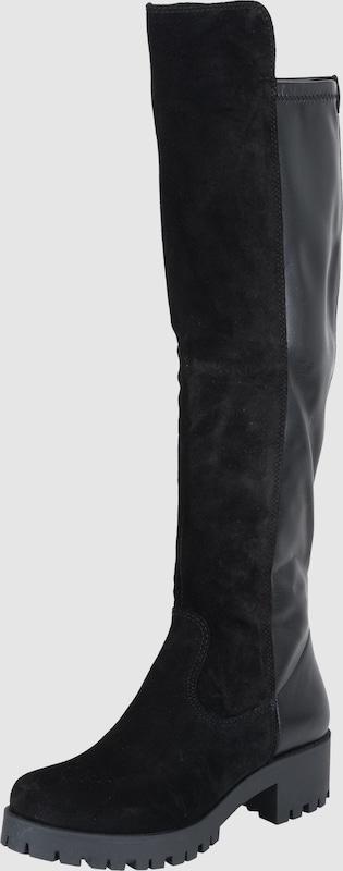 TAMARIS Stiefel mit Leder-Mix