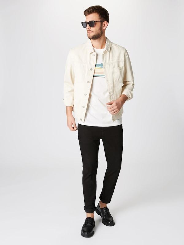 Review Cassé Col' MentheBlanc shirt En T Wave 'cn nOPNX0k8w