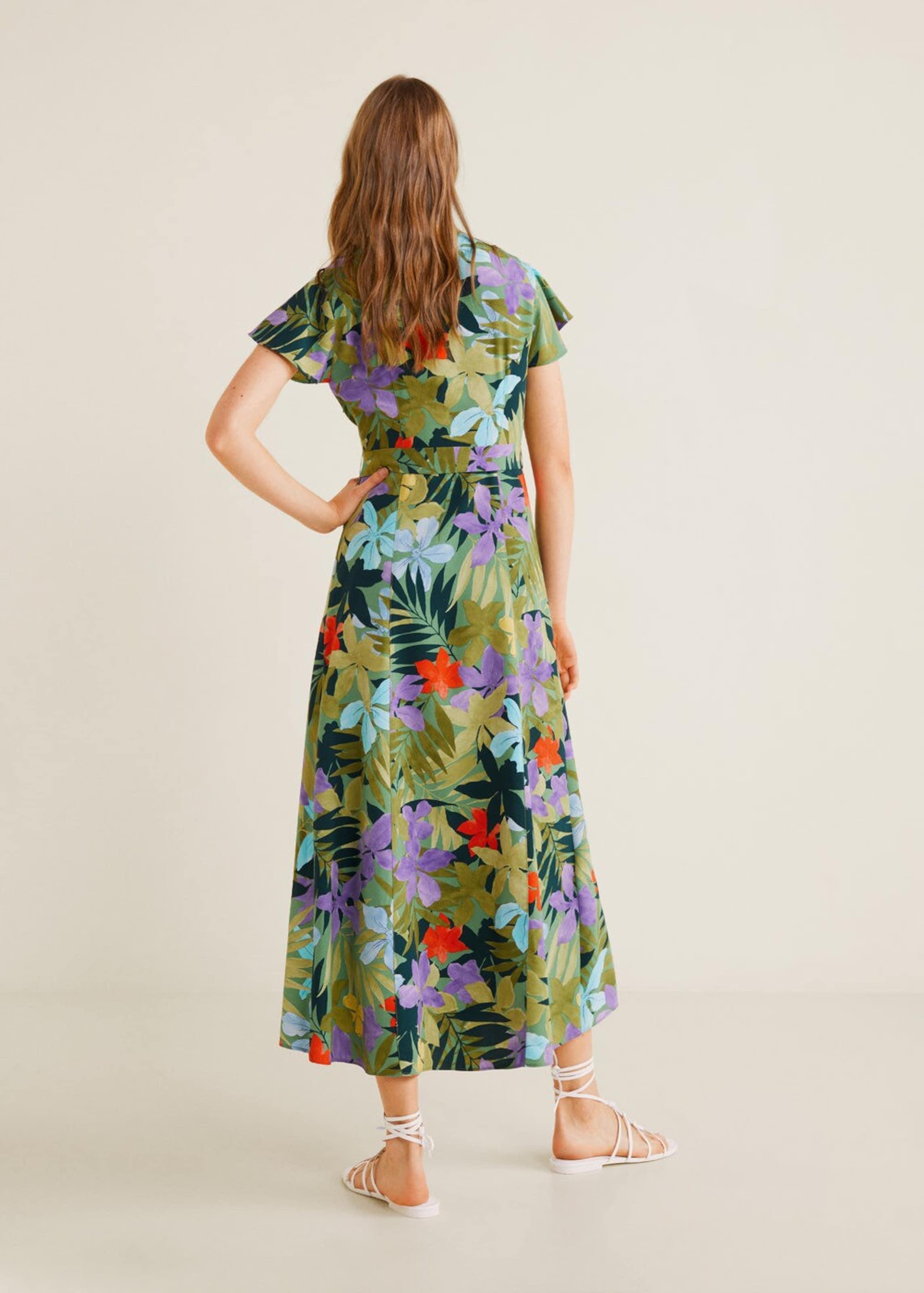 Mango 'hawai' In Kleid Mango GrünMischfarben Kleid 'hawai' GrünMischfarben In Mango Pyv8n0OmNw
