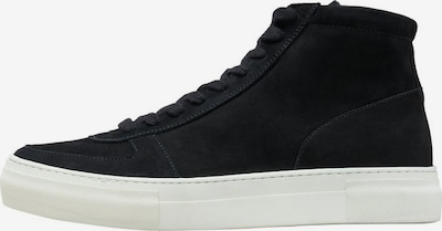 SELECTED HOMME Sneakers hoog in de kleur Zwart / Wit, Productweergave