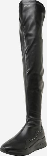 Liu Jo Overknee laarzen 'Karlie 42' in de kleur Zwart, Productweergave