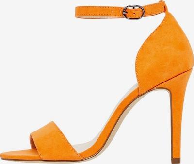Bianco Sandalen met riem 'Aja' in de kleur Sinaasappel, Productweergave