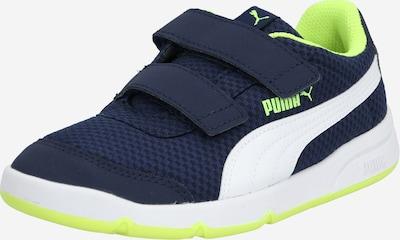 PUMA Sneaker 'Stepfleex' in navy / gelb / weiß, Produktansicht
