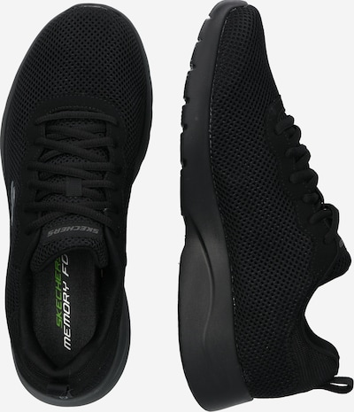 Sneaker low 'DYNAMIGHT 2.0' SKECHERS pe negru: Privire laterală