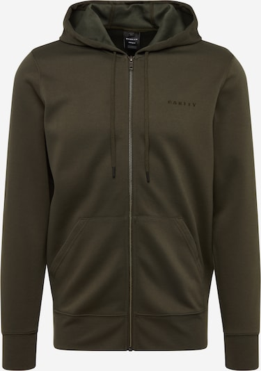 OAKLEY Sport-Sweatshirt 'FULL FLEX PERFORMANCE FZ' in oliv, Produktansicht