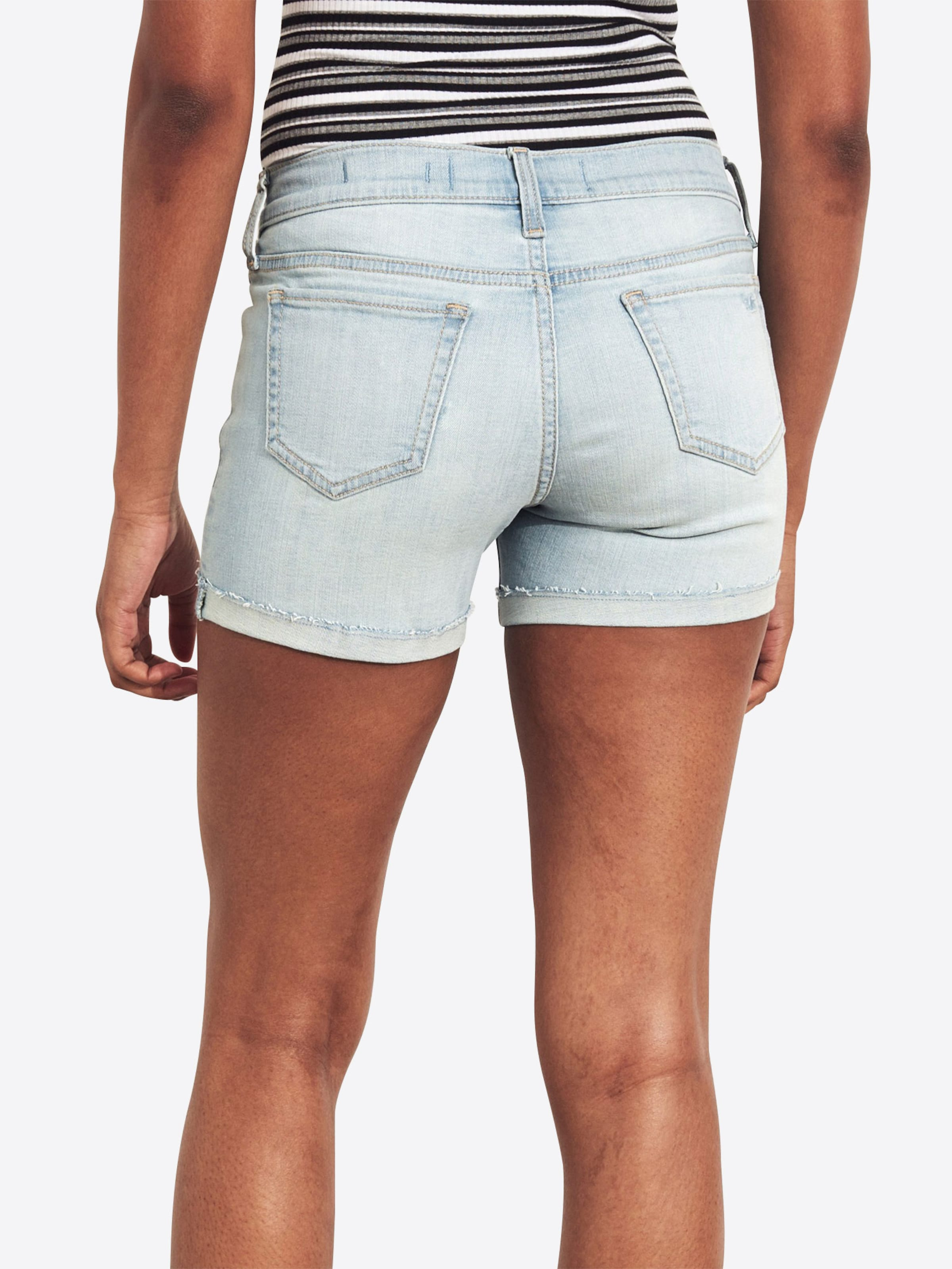 Hollister 'sb19 Shorts Lr In Dst Shorts' 5 Blue Denim dtc gbyvYf67