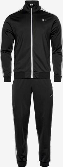 REEBOK Trainingsanzug (Set, 2 tlg.) in schwarz, Produktansicht