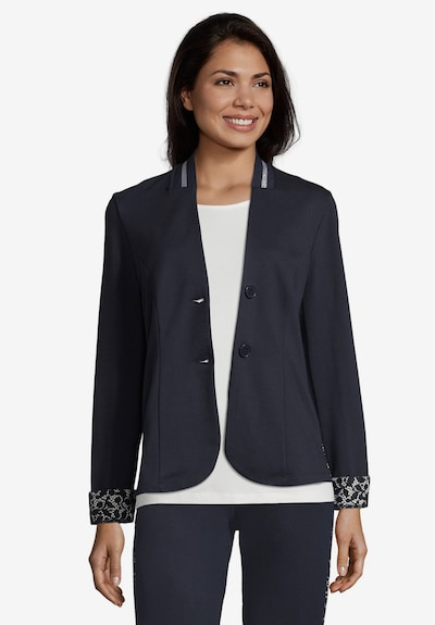 Betty Barclay Jerseyjacke in navy, Modelansicht