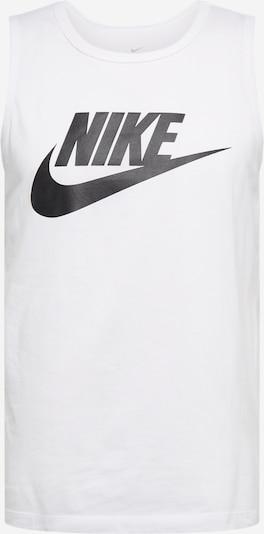 Nike Sportswear Tanktop in schwarz / weiß, Produktansicht