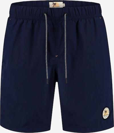 Pantaloncini da bagno Shiwi di colore blu, Visualizzazione prodotti