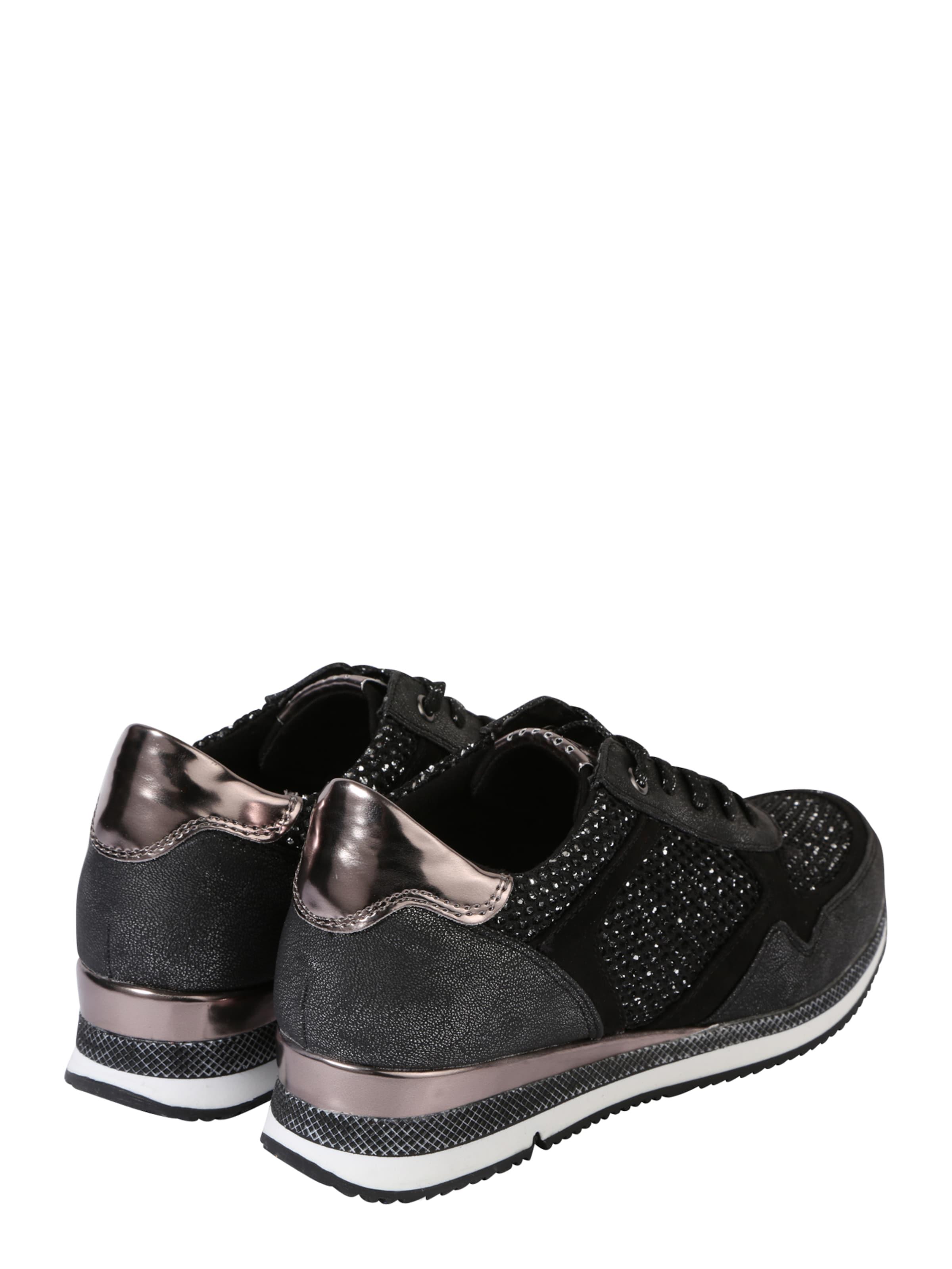 MARCO TOZZI Sneaker mit viel Glitzer Billig Erkunden KcsF38V