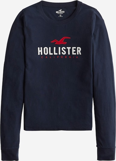 HOLLISTER Shirt 'TIMELESS' in de kleur Navy / Rood / Wit, Productweergave