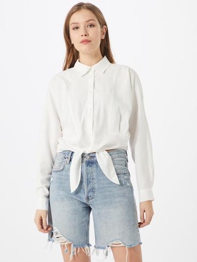 Y.A.S Bluse 'NAVA' in weiß, Modelansicht
