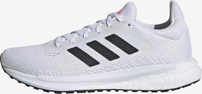 ADIDAS PERFORMANCE Chaussure de course ' SolarGlide 3' en noir / blanc, Vue avec produit