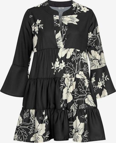 LASCANA Bluse in creme / schwarz, Produktansicht