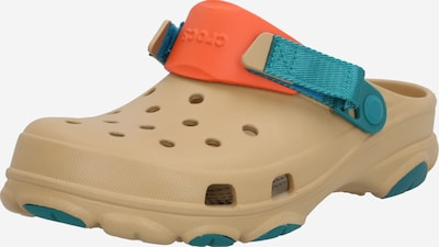 Crocs Clogs 'Classic All Terrain' in türkis / hellbraun / orange, Produktansicht