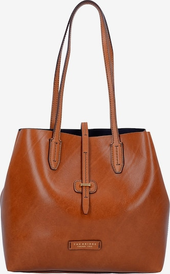 The Bridge Dalston Shopper Tasche Leder 32 cm in braun, Produktansicht