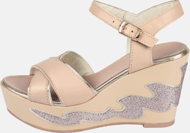 heine Sandalette mit Glitterapplikation