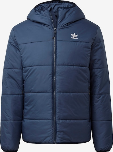 ADIDAS ORIGINALS Winterjacke in blau / weiß, Produktansicht