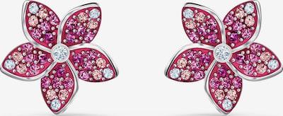 rózsaszín / ezüst Swarovski Fülbevalók, Termék nézet