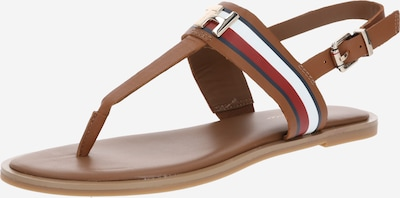 TOMMY HILFIGER Teenslipper 'JULIA 93A' in de kleur Cognac, Productweergave