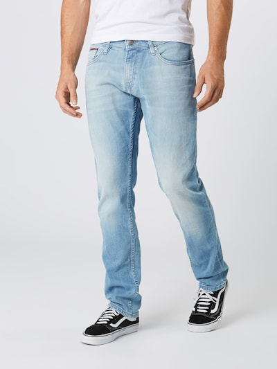 Tommy Jeans Jeans 'Slim Scanton BELB' in blue denim, Modelansicht