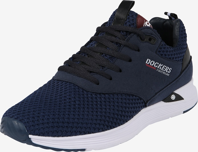 Dockers by Gerli Sneakers laag in Navy / Wijnrood / Zwart / Wit jf9eMNVD