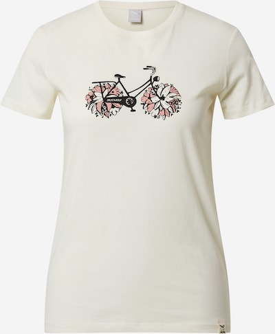 Iriedaily Tričko 'Flower Bike' - béžová, Produkt