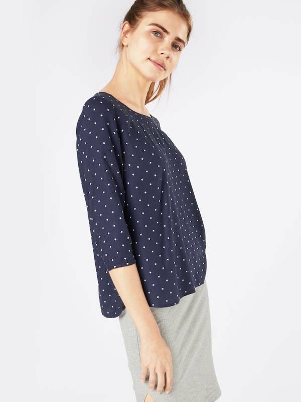 TOM TAILOR DENIM Bluse 'comfortable printed tunic'