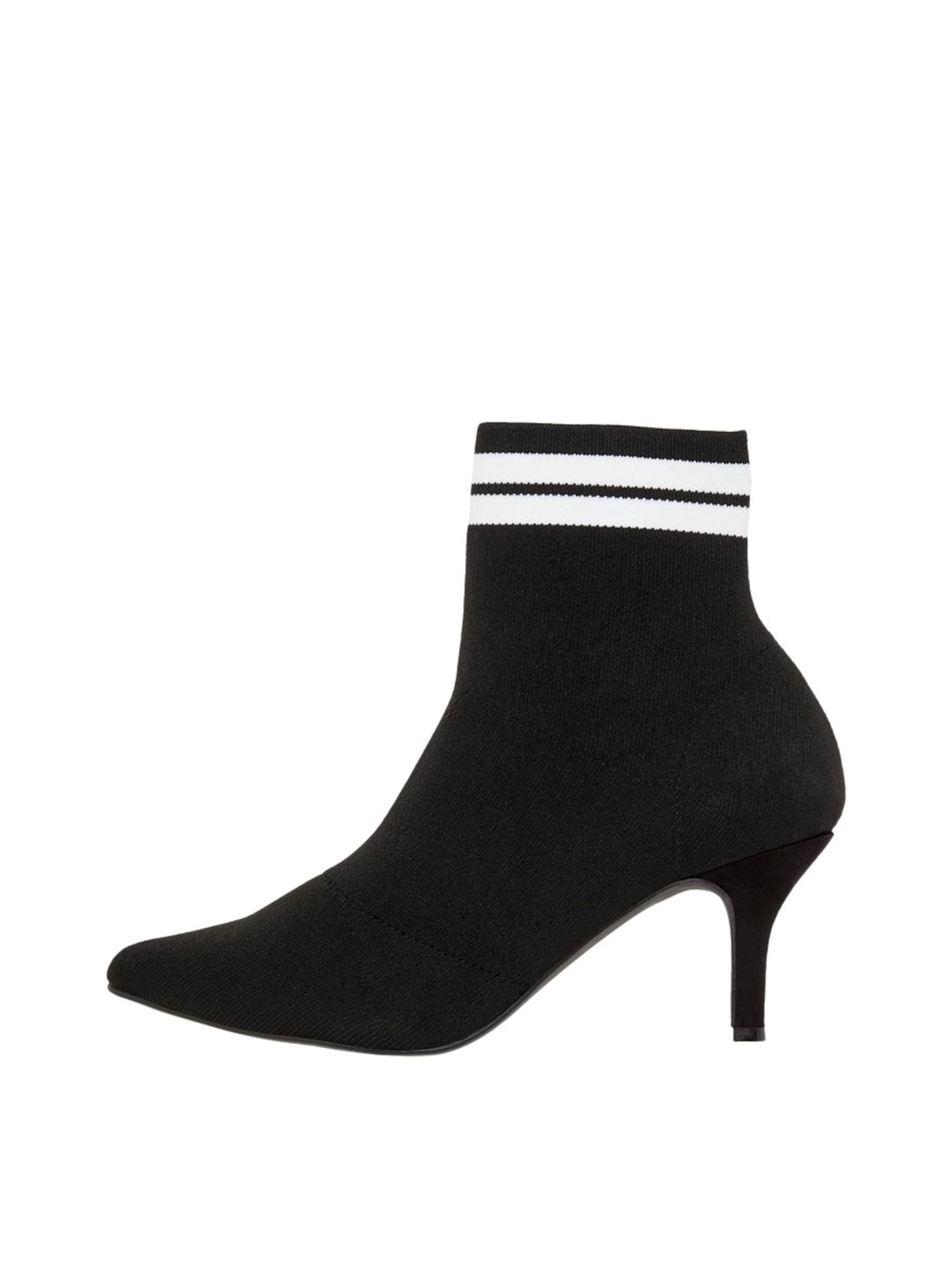 Bianco Stiefeletten in schwarz weiß 4921cbgkr7682 Schuhe