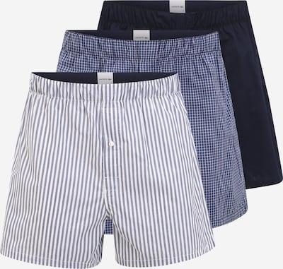 LACOSTE Boxershorts in blau / dunkelblau / weiß, Produktansicht