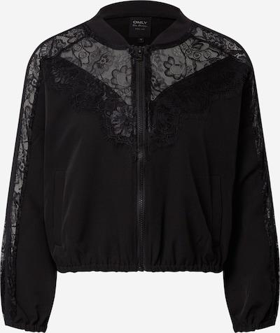 ONLY Prechodná bunda 'MAELLE-ENNA' - čierna: Pohľad spredu