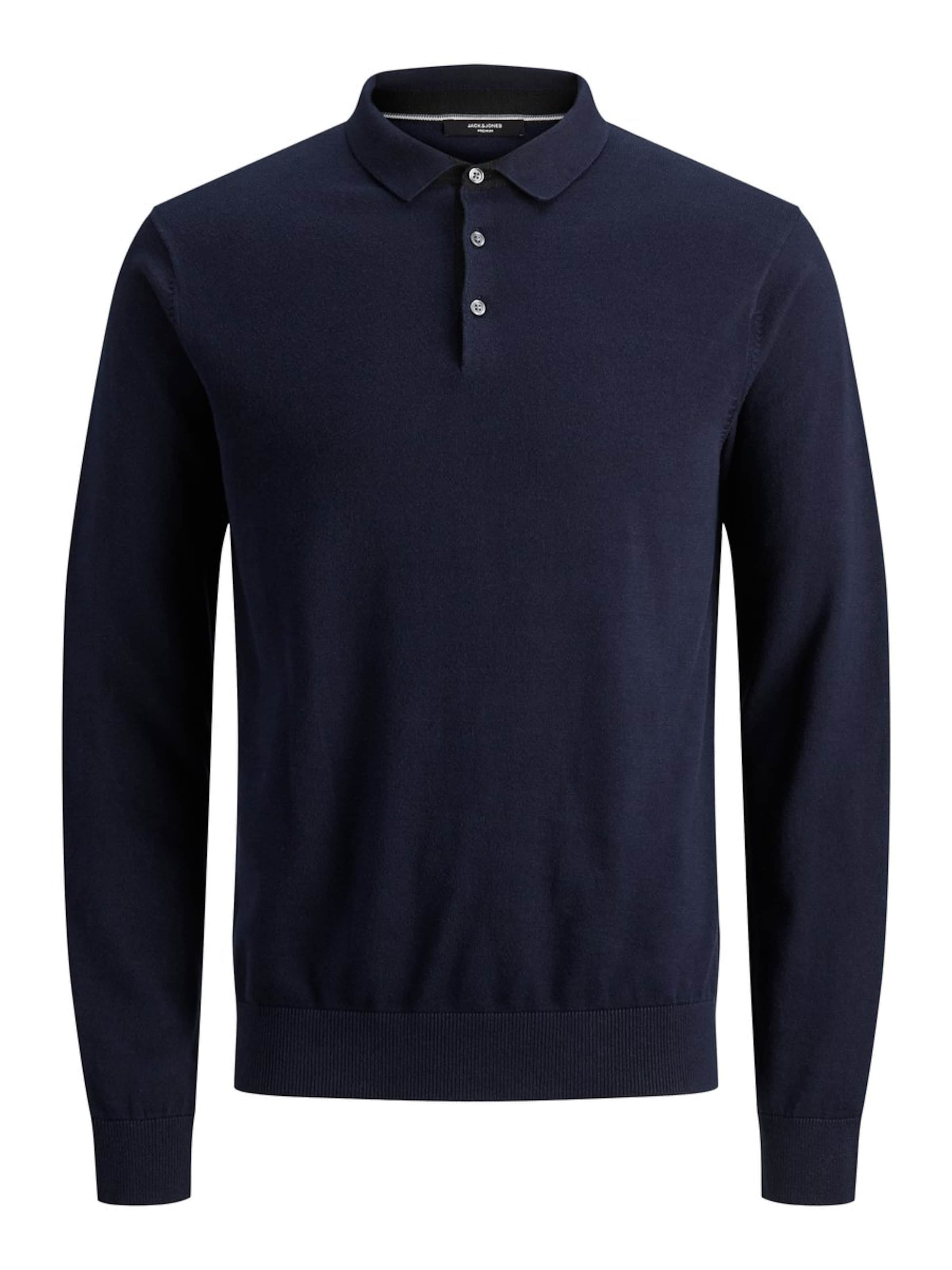 In Dunkelblau Langarm Poloshirt Jackamp; Jones cL4RqAS35j