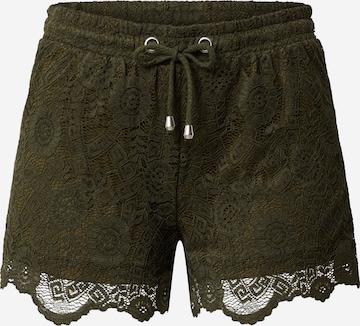 Pantalon 'Sandra' ABOUT YOU en vert