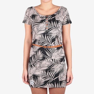 Iriedaily Kleid  'La Palma' in creme / schwarz, Modelansicht