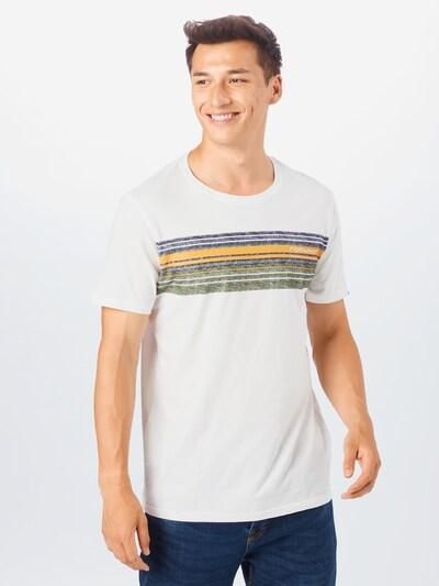 Ragwear Shirt 'Hake' in navy / goldgelb / oliv / weiß: Frontalansicht