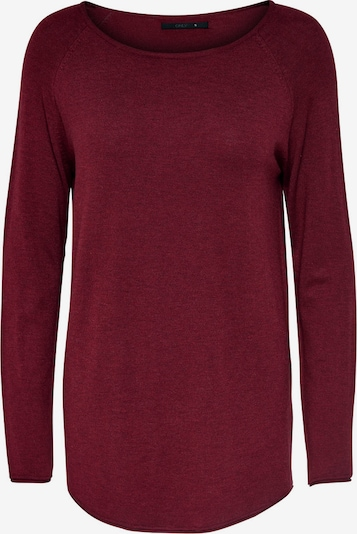 ONLY Pullover 'Mila' in burgunder, Produktansicht
