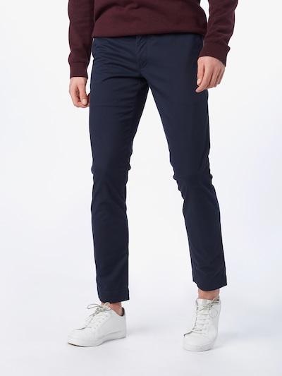 POLO RALPH LAUREN Chino kalhoty 'TSLFHDNP-FLAT-PANT' - námořnická modř, Model/ka