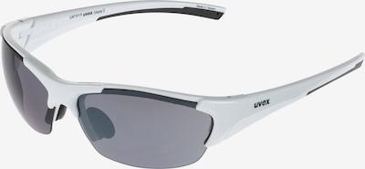 UVEX Sportbrille 'Blaze III' in silber: Frontalansicht
