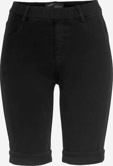 ARIZONA Jeansbermudas 'Bi-Stretch - unendlich elastisch' in schwarz, Produktansicht