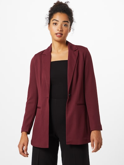 ONLY Blazer 'Meryl-Anna' in bordeaux, Modelansicht