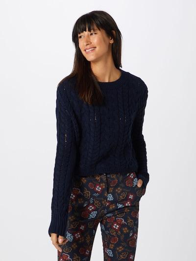 GLAMOROUS Pullover in blau, Modelansicht