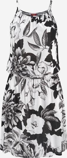 BUFFALO Strandkleid in schwarz / weiß, Produktansicht