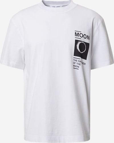 Samsoe Samsoe T-Shirt 'Moon' in schwarz / weiß, Produktansicht