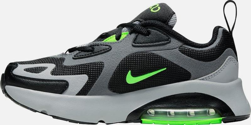 air max neon grün grau