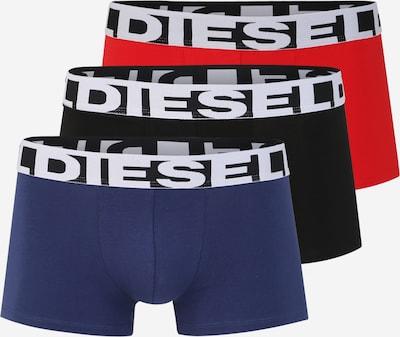 DIESEL Trunks 'UMBX-SHAWNTHREEPACK' in blau / rot / schwarz, Produktansicht