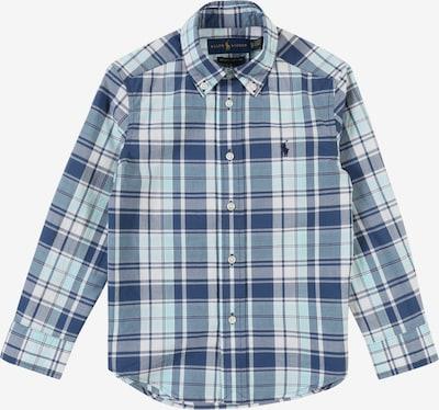 POLO RALPH LAUREN Overhemd in de kleur Blauw / Wit, Productweergave