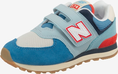new balance Sneakers Low in blau / rot / weiß, Produktansicht