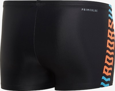 ADIDAS PERFORMANCE Sportbadehose in orange / schwarz, Produktansicht